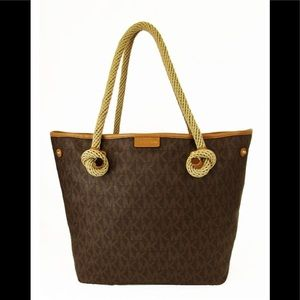Michael Kors signature beach tote bag/purse